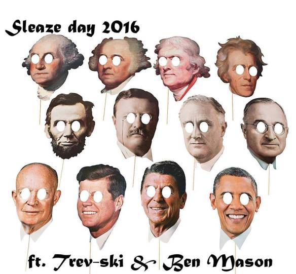 Sleaze Day 2016 with Trev-ski and Ben Mason at Little Miss Whiskey's Bottom Dollar