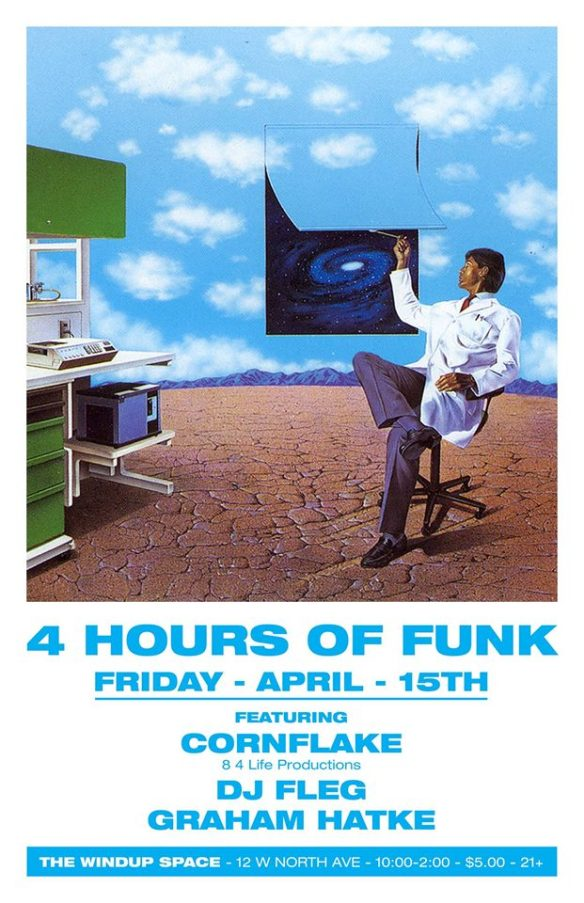 4 Hours of Funk with DJ Cornflake, Graham and Fleg at The Windup Space, Baltimore