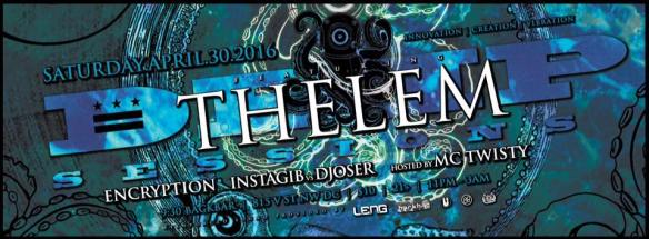 Deep Sessions presents Thelem with Encryption, Istagib cs Djoser and MC Twisty at Backbar