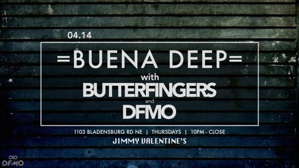 Buena Deep with Butterfingers and DFMO at Jimmy Valentine's Lonely Hearts Club