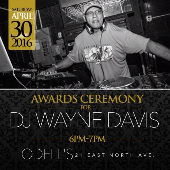 Award Ceremony for Wayne Davis at Odell's, Baltimore