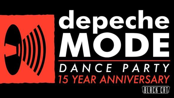 Depeche Mode Dance Party 15 Year Anniversary Celebration at The Black Cat