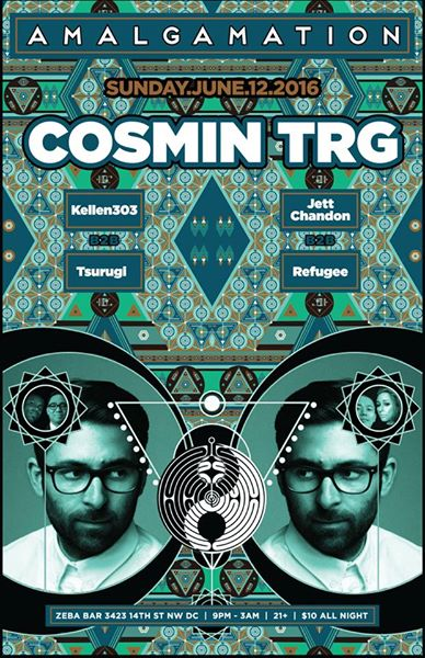 Amalgamation with Cosmic Trg, Kellen303 b2b Tsurugi and Jett Chandon b2b Refugee at Zeba Bar
