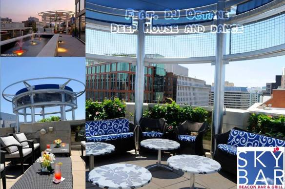 Drinks, Beats and Eats with DJ Octane at Sky Bar Rooftop