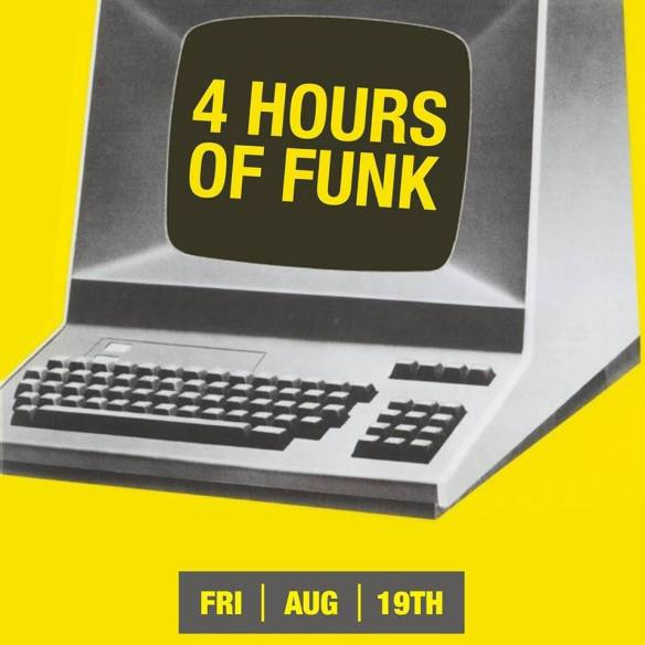 4 Hours Of Funk with Casey Macem, Graham & Fleg at The Windup Space, Baltimore