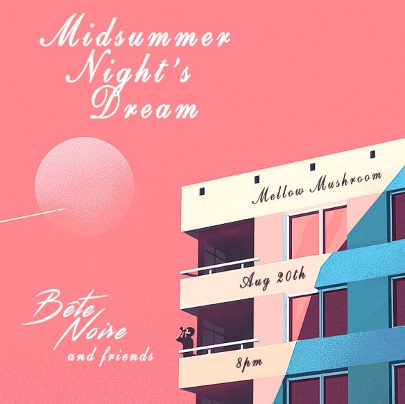Midsummer Night's Dream with Bête Noire b2b Citizen Select at The Mellow Mushroom