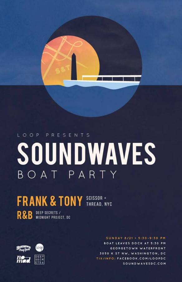 Soundwaves Boat Party with Frank & Tony and R&B