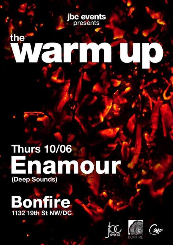 The Warm-Up Happy Hour with Caseo and Enamour at Bonfire