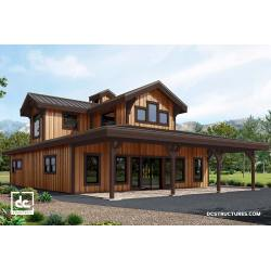 Magnificent Barn Home Kits Barn Home Kits Dc Structures Barn Looking Modular Homes