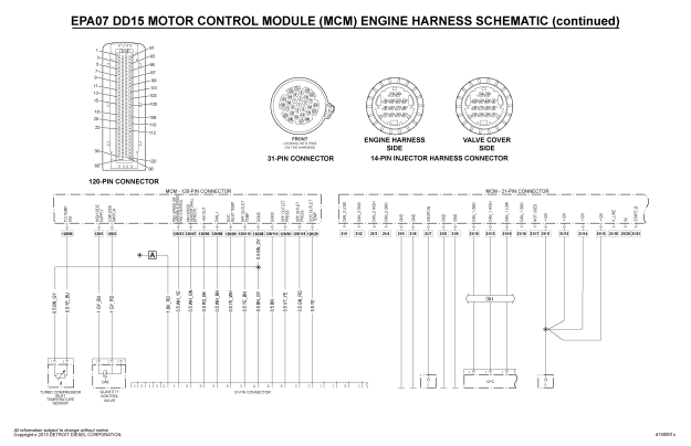 EPA07 DD15 MCM WIRING DIAGRAM PART2