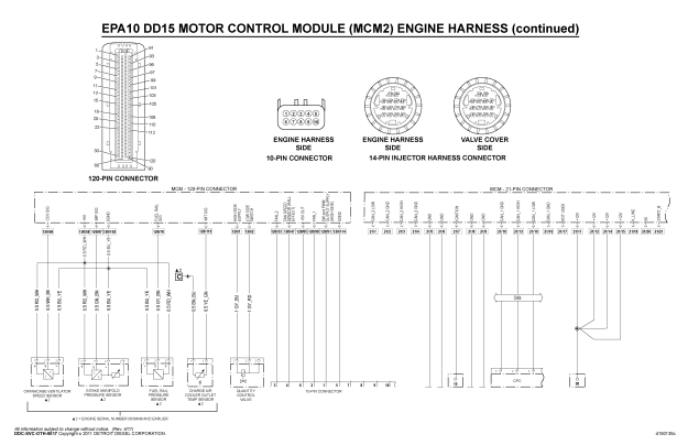 EPA10 DD15 MCM WIRING DIAGRAM PART 2