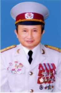 Trung tá Trần Anh Kim - Phó Tổng Thư ký ĐDCVN