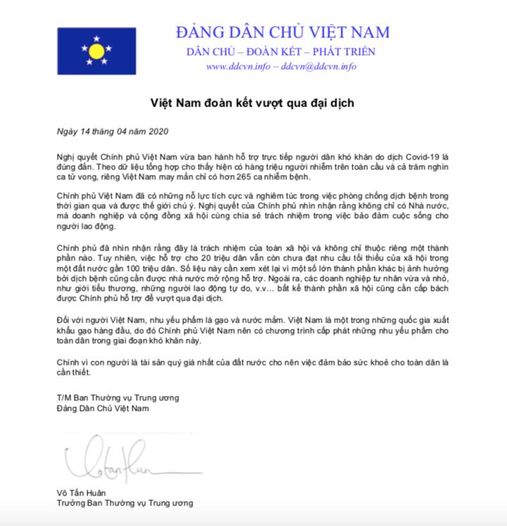 Việt Nam đoàn kết vượt qua đại dịch