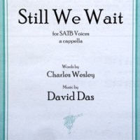 Still We Wait: new choral piece published by Fred Bock Music Company