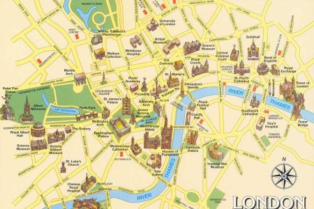 london sightseeing map