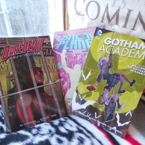 Stacking the shelves with… comics!