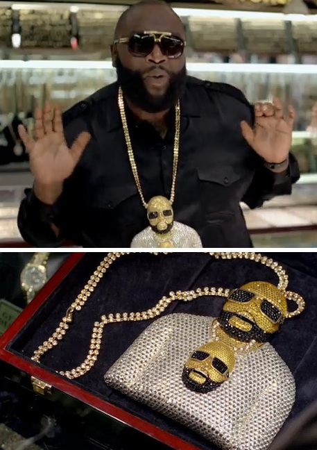 rick ross gold chain