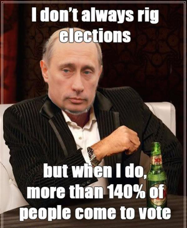 Russia made it illegal to publish Putin memes, so here are ...