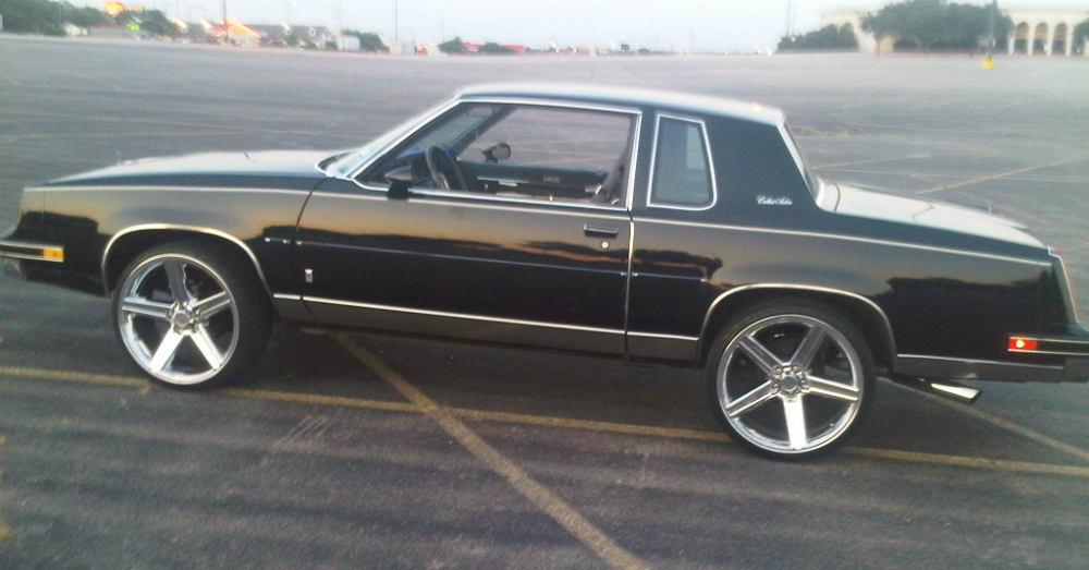 Vintage rides from a brand that is now extinct for 1985 olds cutlass salon