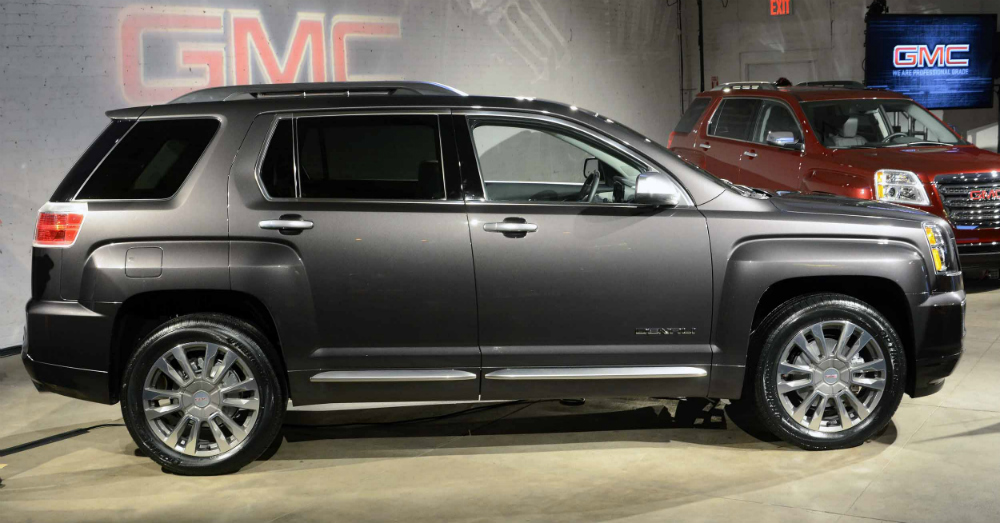 2016 GMC Terrain New York Auto Show