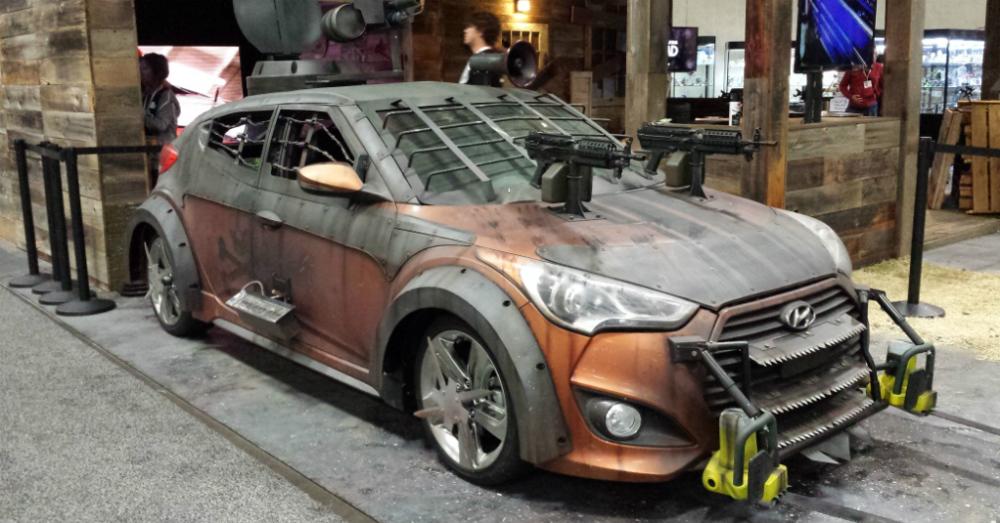 Hyundai veloster Zombie Apocalypse