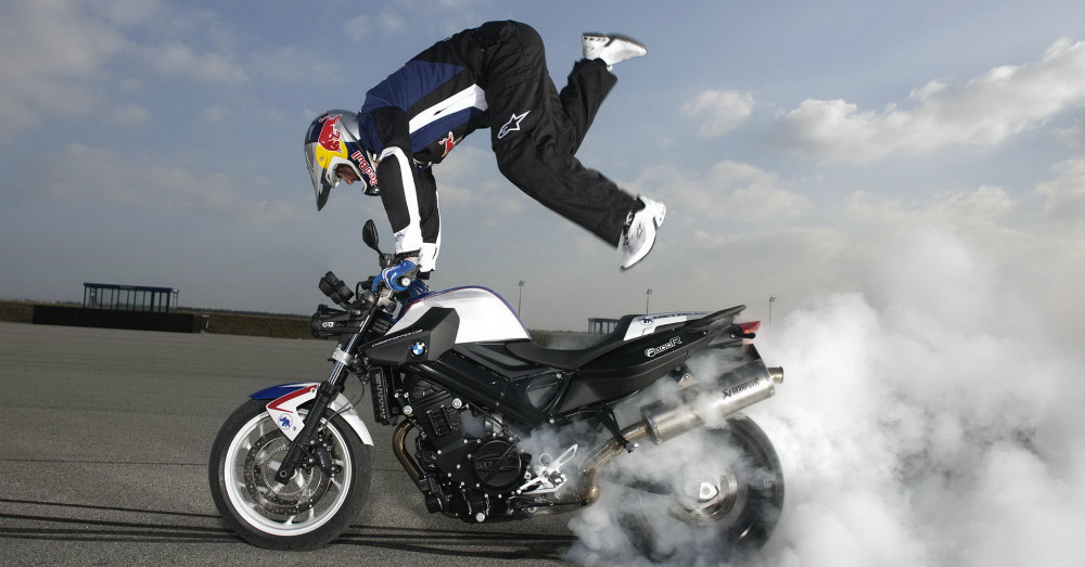 Motorcycle Stunts