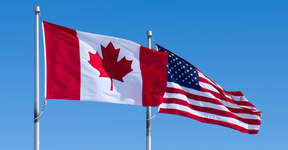09.12.16 - US and Canadian Flag