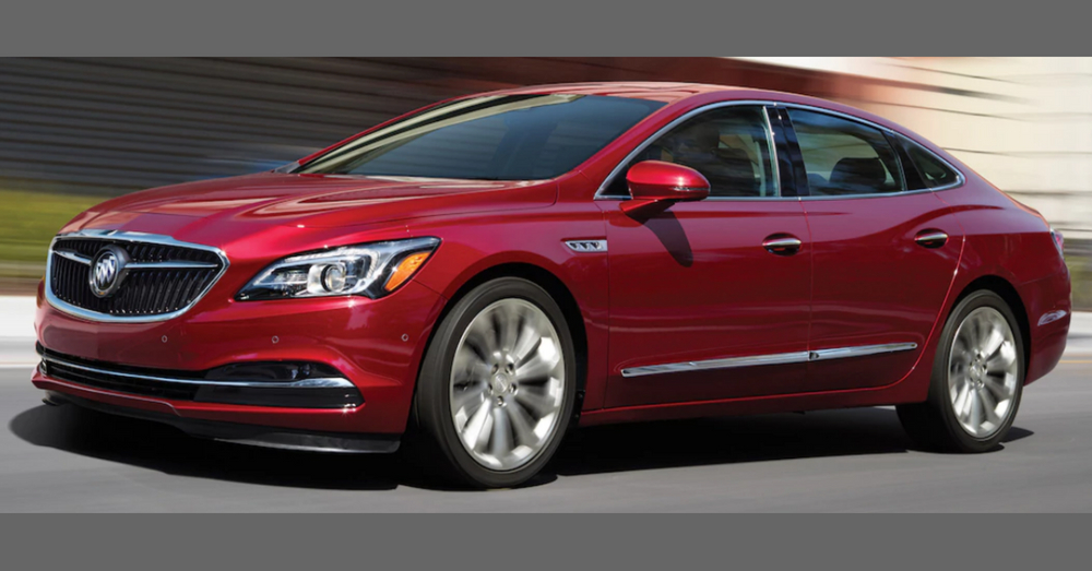 There's No Doubt the Buick LaCrosse Avenir is a Luxury Model