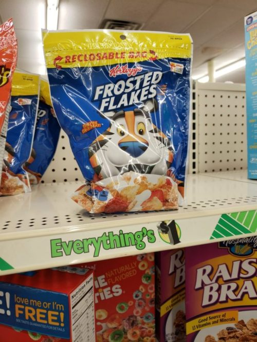 Medium Of Kelloggs Frosted Flakes