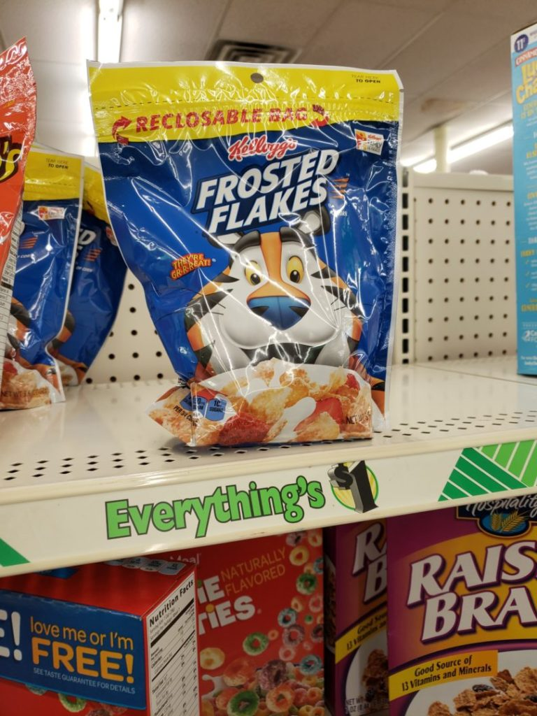 Tremendous Dollar Store Buy Frosted Flakes Frosted Flakes Only Deal Mama Kellogg S Frosted Flakes Nutrition Kellogg S Frosted Flakes Commercial