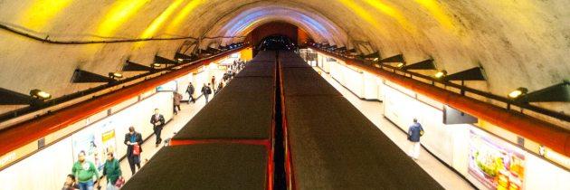 En la Ciudad de México, el metro es una aventura