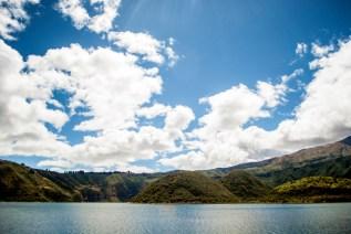 Lago Cuicocha, Ecuador