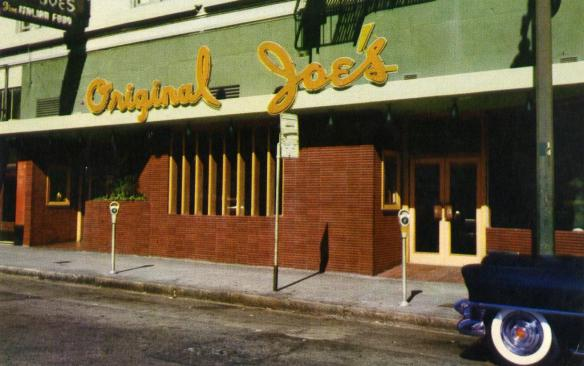 Original Joe's, Taylor St, San Francisco, 1937-2007