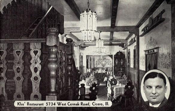 original dining room postcard