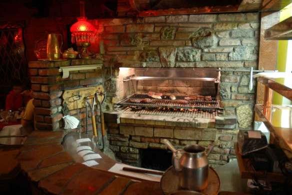 Clearman's Steak 'n Stein charcoal pit