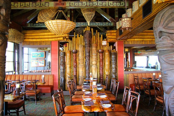Tiki Room, Trader Vic's, Emeryville via EaterSF on Flickr