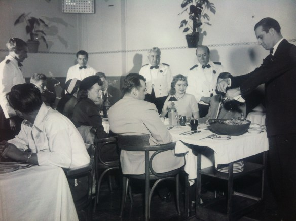 Ensaladero Guillermo Carreño Olsen, who would later open his own restaurant in Tijuana called El Bodegon de Guillermo (destroyed by fire in 1978) - image by Carrolyn Carreño