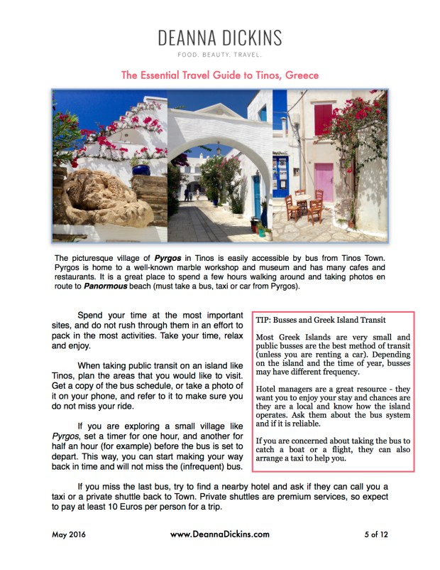 The Essential Guide to Tinos 5