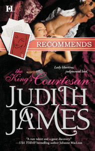 King's Courtesan Judith James