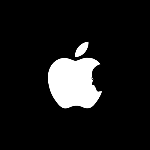 This should be Apple's new logo. Dope. #SteveJobs on Twitpic