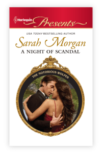 Night of Scandal Sarah Morgan