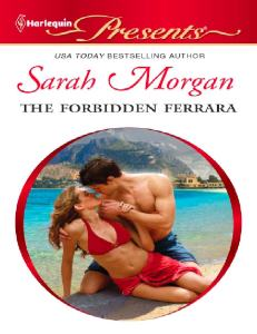 The Forbidden Ferrera Sarah Morgan