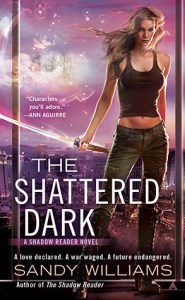 The Shattered Dark (McKenzie Lewis #2) by Sandy Williams