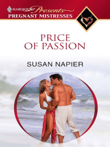 price of passion susan napier