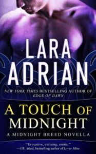 A Touch of Midnight (Midnight Breed Series Novella) by Lara Adrian