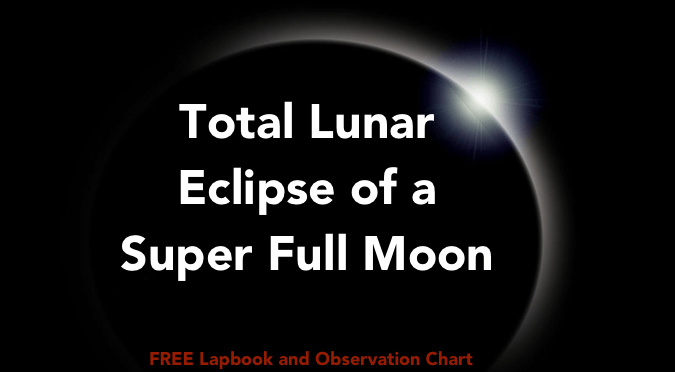Total Lunar Eclipse of a Super Full Moon