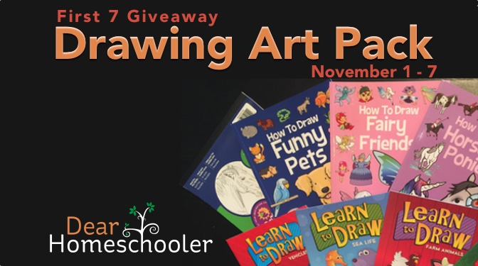 First 7 Giveaway: Drawing Art Pack
