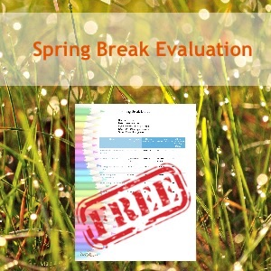 spring break evaluation TH