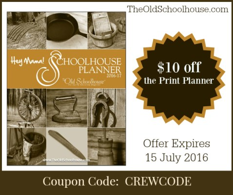 Planner coupon