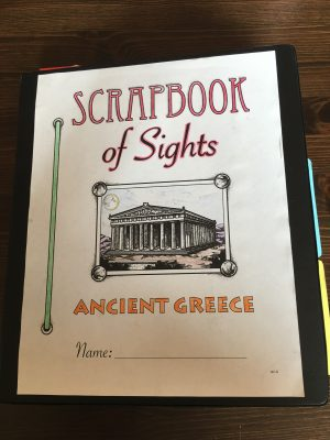 Greece Scrapbook of Sights